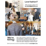 Full page recruiting ad for fashion magazine